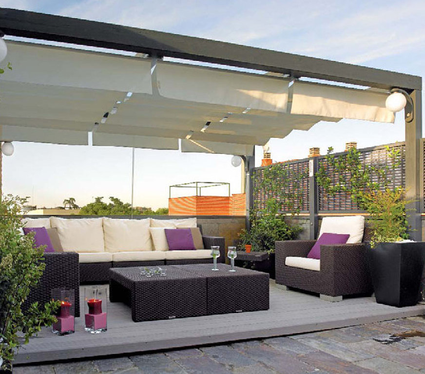 Toldos para terrazas toldos - Toldo de terraza ...